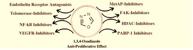 Oxadiazole kinase inhibition