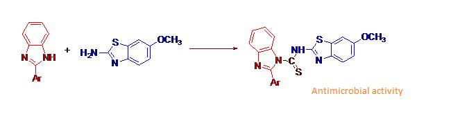 benzimidazole clubbed benzothiazole