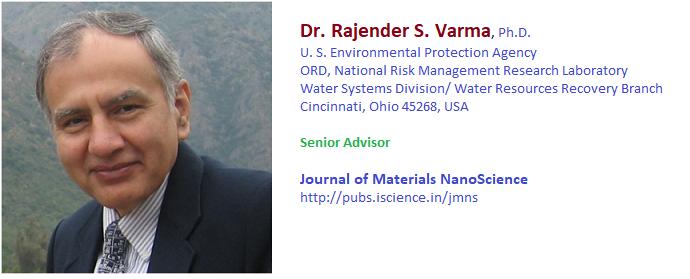 Prof. Raj S Varma EPA USA