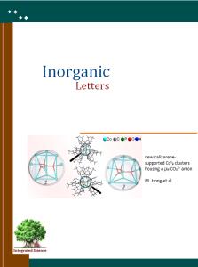 Inorganic Letters
