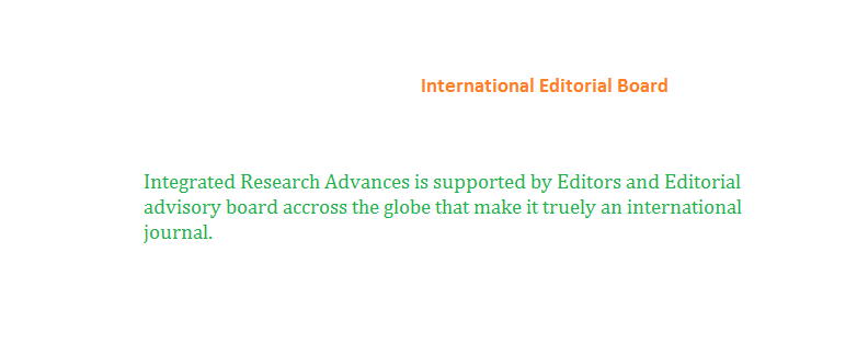 International Editorial Board