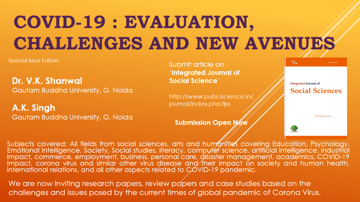 Covid-19 : Evaluation, Challenges and New Avenues